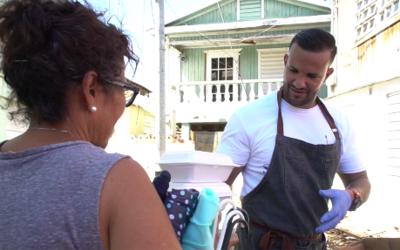 Los puertorriqueños de las zonas más afectadas de la isla...