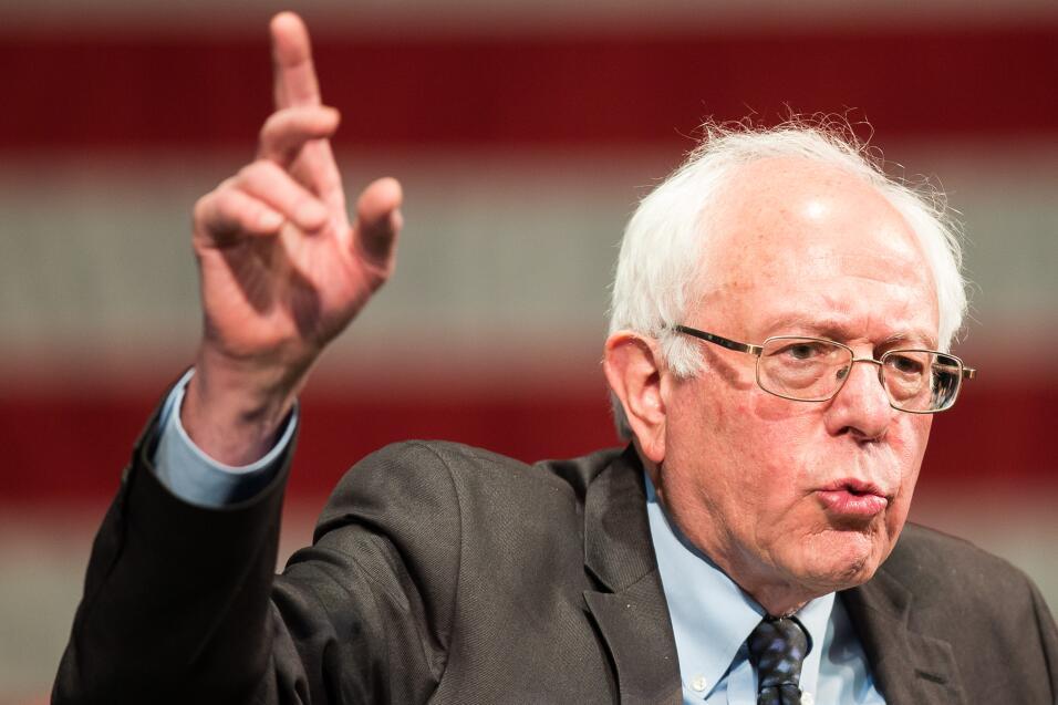 Bernie Sanders también tiene a muchas celebridades a su lado.