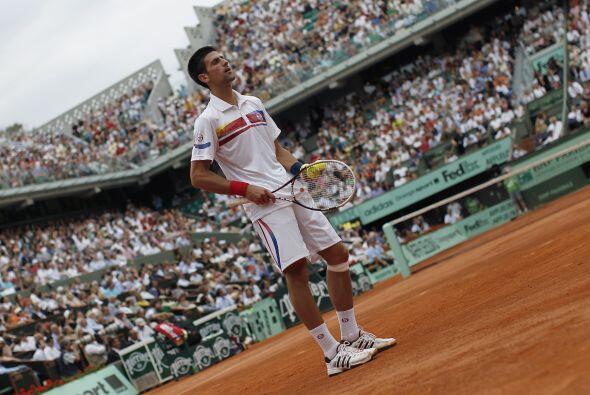 Federer fue el último jugador que había ganado a Djokovic el año pasado...