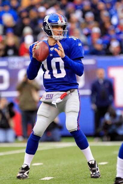 Los Gigantes cuentan con Eli Manning y su contrato por $97.5 millones ga...