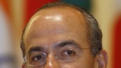 En una entrevista, el presidente mexicano Felipe Calderón expresó no hab...