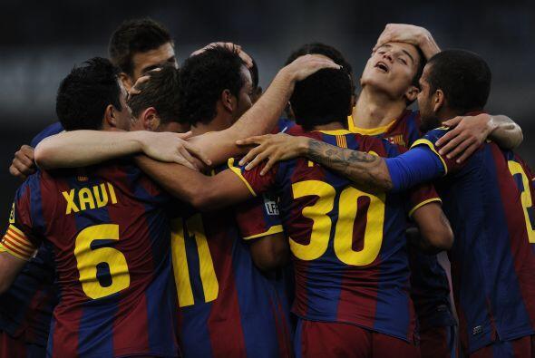 Barcelona sumaba una nueva victoria y seguía con la racha positiva.