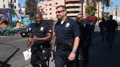 Charlie Beck, jefe de la policía de Los Ángeles