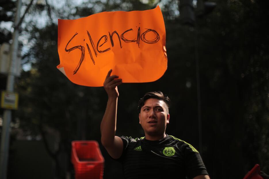 Rostros mexico silencio