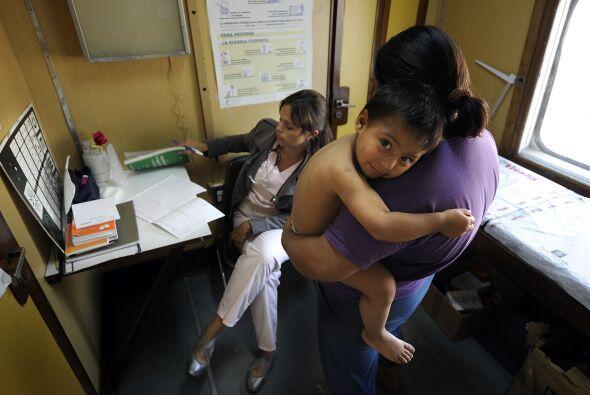 Un total de 514 niños fueron atendidos en cinco días en las poblaciones...