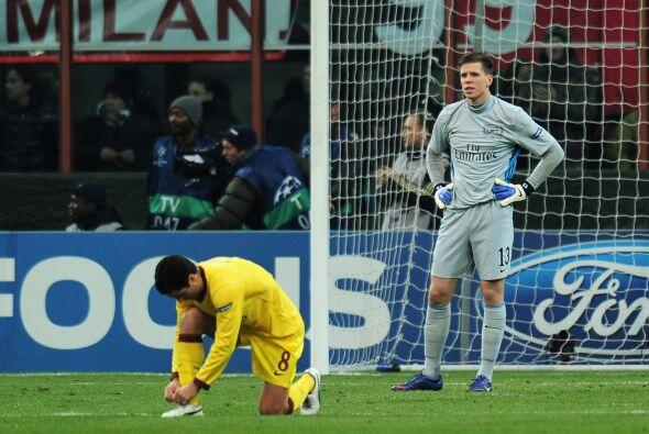 Arsenal no lo podía creer, pues afectaba de gran forma su apuesta futbol...