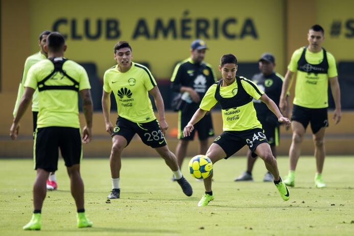 Así fue el entrenamiento del América en la nueva era del 'Piojo' Herrera...