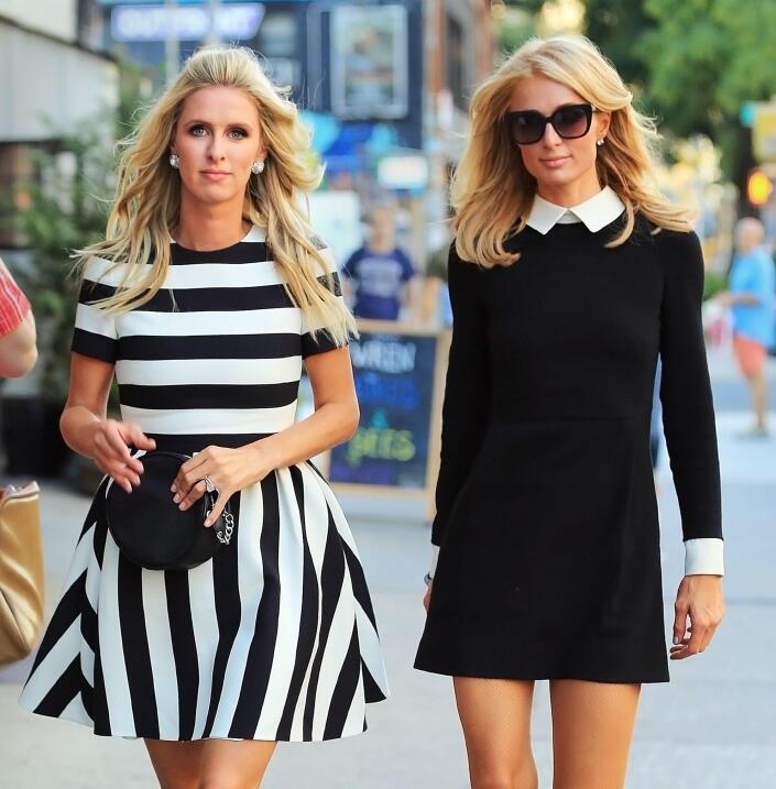 ¿Merlina? Nooo, sólo es la socialité creyéndose fashion pero salió como...