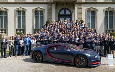 Bugatti fabrica el Chiron número 100