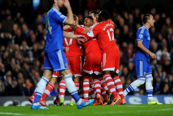 Ese gol le costó a los 'Blues', que insistieron todo el primer tiempo si...