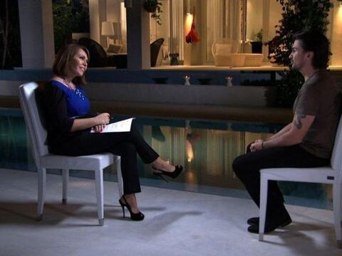 El exitoso músico colombiano, Juanes, dio una entrevista a Maria...