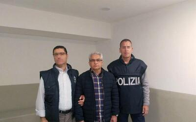 La Polizia di Stato de Italia difundió esta imagen del exgobernad...