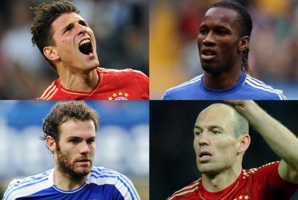 Llega el momento de la verdad en la edición 2011-12 de la Champions Leag...