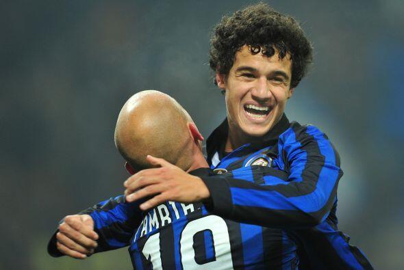 Se encargó de que el Inter no extrañara a Wesley Sneijder, siendo la fig...