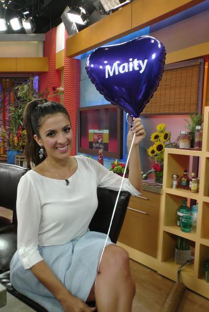 Maity también estaba contenta pues todo el esfuerzo y apoyo de la gente...