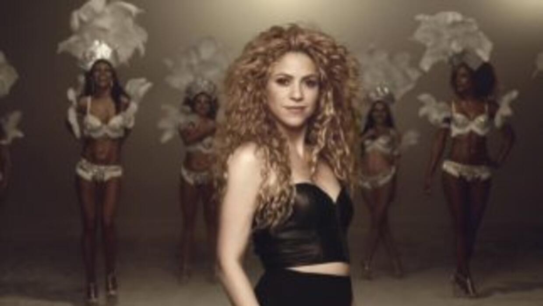 Shakira impuso su tema 'La la la' como el más exitoso del Mundial 2014.
