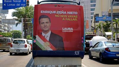 México está más cerca de aprobar una polémica ley que regula la publicidad oficial