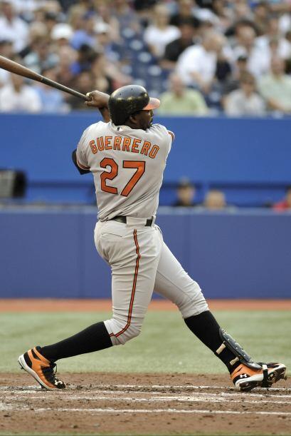 DH. Vladimir Guerrero. Orioles de Baltimore. En la temporada, ha bateado...