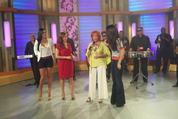 Entre risas y mucho baile se llevó a cabo la hora VIP de Despierta América.