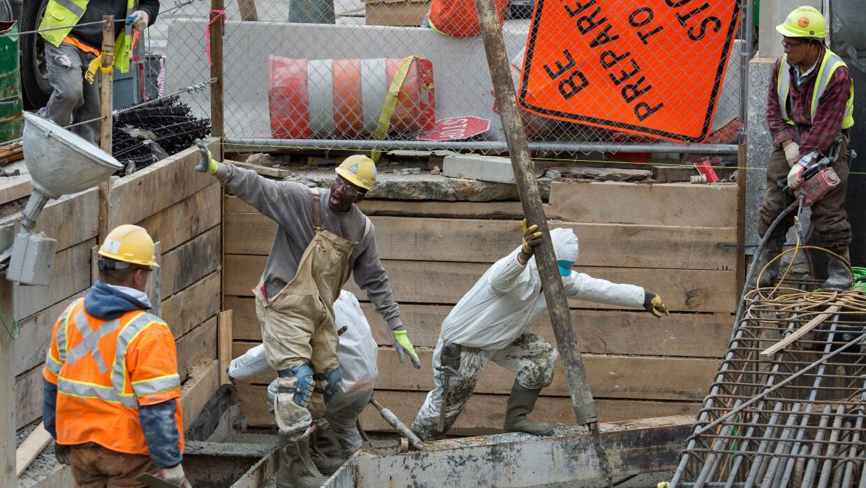 La economía estancada, pero la creación de empleo ha sido vigorosa