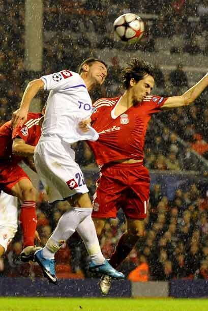 El Liverpool, ya sin opciones en la 'Champions', recibió a la Fiorentina...