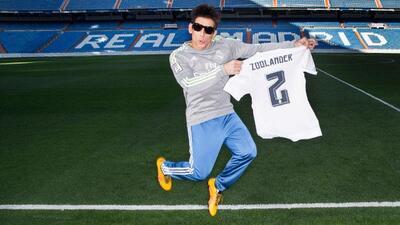 Zoolander visitó el Santiago Bernabéu