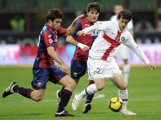 Los 'nerazzurri', esta vez jugando de uniforme blanco, esperaban ganar p...