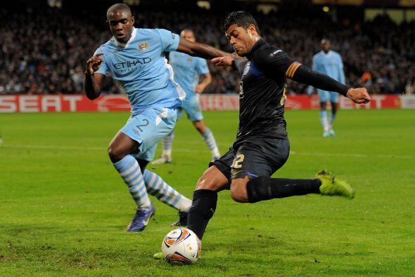 Porto sintió el fuerte golpe y se fue al ataque.