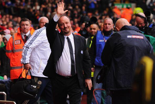 El propio técnico español no pudo evitar sentirse emocionado por las man...