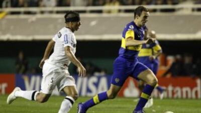 El duelo entre Boca Juniors y Corinthians en la Libertadores 2012 que ga...