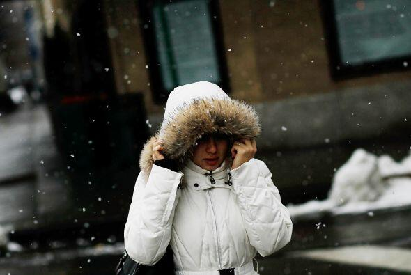 Por el contrario, Massachusetts espera 75 centímetros de nieve. E...