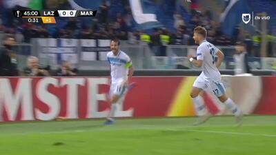 ¡GOOOL! Marco Parolo anota para Lazio