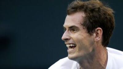 Murray, máximo favorito para levantar el título, tuvo un encuentro poco...