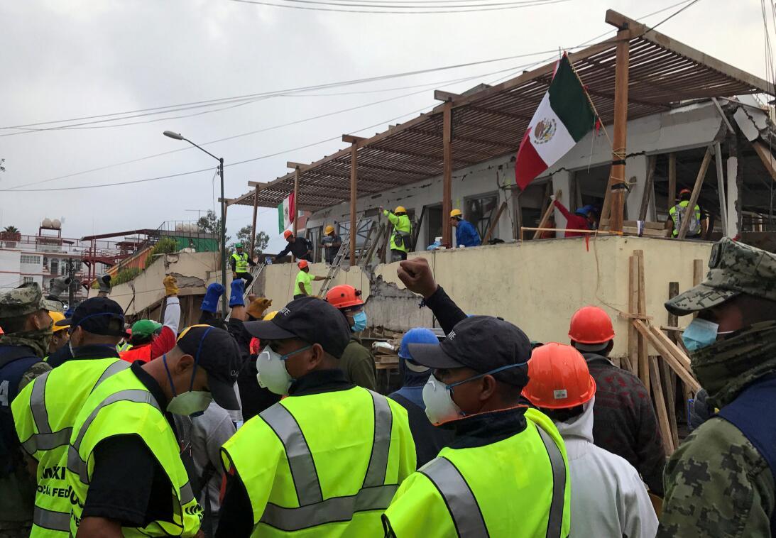 Terremoto Mexico Rebsamen