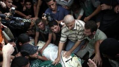 El intercambio bélico en la Franja de Gaza se reanudó con dureza.