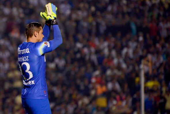 Moisés Muñoz solamente recibió un gol en la liguilla y fundamental en la...