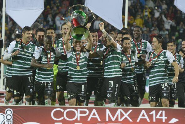 En el Grupo 1 se encuentra Santos, ganador de la Copa MX Apertura 2014,...