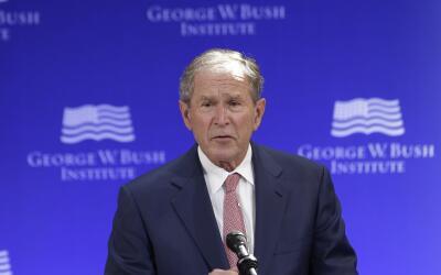 El expresidente George Bush lamentó el fomento de la intolerancia...