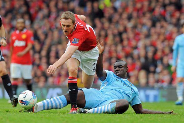 Un gol de Darren Fletcher descontó la diferencia y parecía devolver la e...