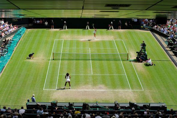 En su séptimo Wimbledon, en el que hasta la semifinal frente a Wi...