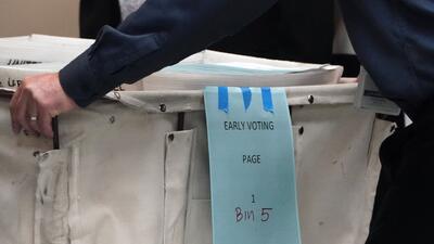 El recuento de votos de las elecciones de medio término sigue demorado en el condado de Broward