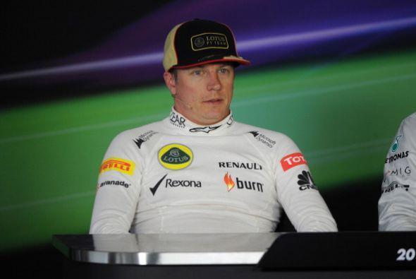 Kimi Raikkonen buscará acercarse a Sebastian Vettel en la tabla general.