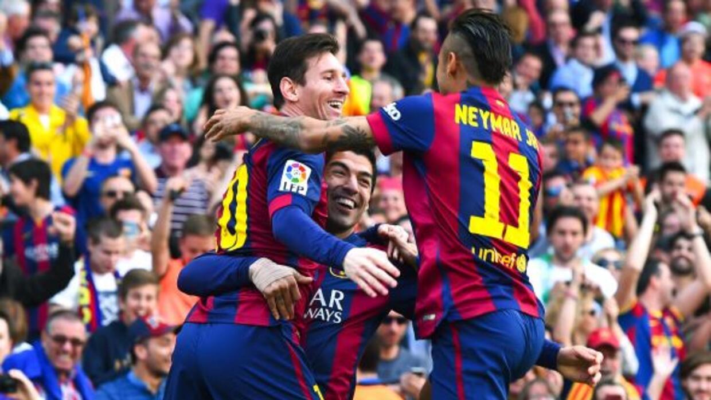 La MSN rompe el récord de goles de Cristiano-Higuaín-Benzema con 120 ano...