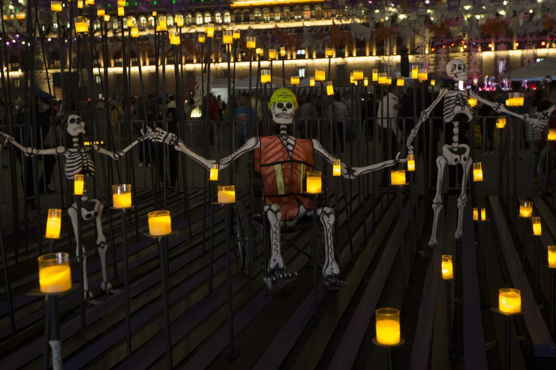 Dia de los muertos México
