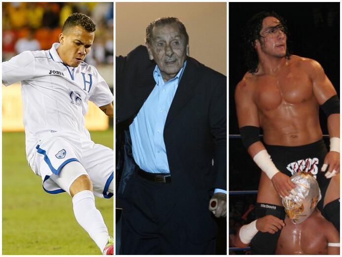 Los personajes del deporte que se fueron 2015