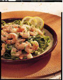 Camarones Scampi: Una entrada o plato principal liviano e ideal para deg...