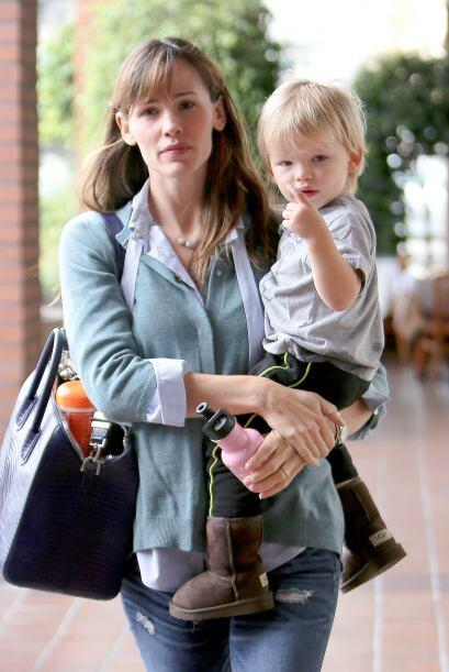 Son las consentidas de la actriz Jennifer Garner y su pequeño Sam...