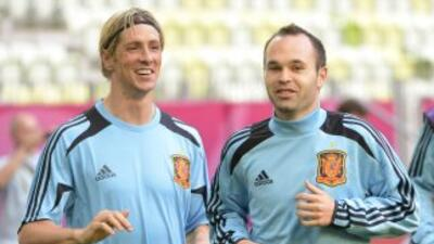 Los jugadores españoles prefieren cederle la presión al anfitrión.