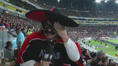 ¡Ese ''Zorro'' no sirvió! El apoyo de Kevin Arnulfo no fue suficiente para que Atlas no perdiera frente América