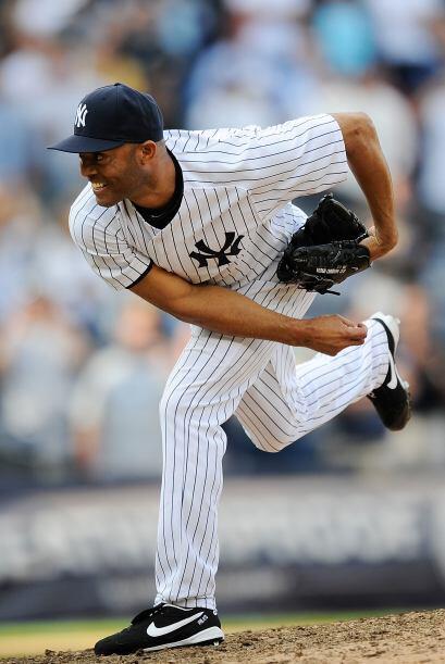 RP. Mariano Rivera. Yankees de Nueva York. En la semana logró tres salva...